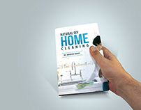 Home Cleaning Book Cover Design