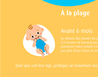 Conseils pour un bébé en pleine forme