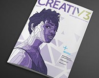 CREATIV3 Cover Design 2018 Competition Submission