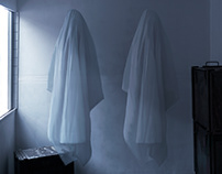 Two Ghosts | self portrait photographic series