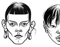 Bottega's faces