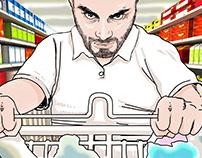 supermarket storyboard