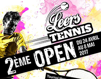 Open tennis Leers 2 ème