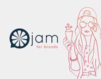 Jam for brands - Millenial Messenger Chatbot service