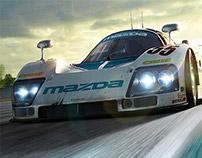 MAZDA 787 B // Le Mans // CGI