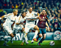 Messi - the king