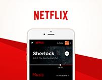 Flixer - Netflix App Concept