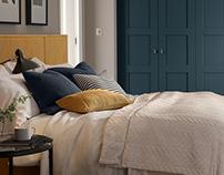 Bespoke Bedroom Furnishing CGIs