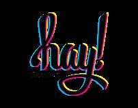 hay! Creative Personal Logo