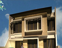 Arsitektur Rumah Kost di Siwaklan kerto Surabaya