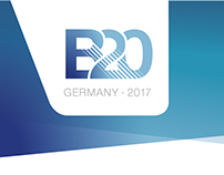 B20 GERMANY 2017 Logo Design