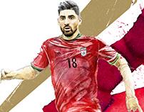 Alireza Jahanbakhsh (IRAN in World Cup)
