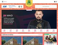 Layout PSD & HTML/CSS | Festa de Santo Antônio 2018