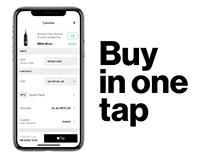 Evino App checkout redesign