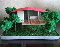 Maquete - Cabana do Escritor