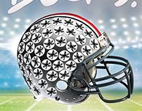 Ohio State University Football Poster