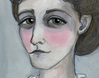 Edith Wharton Literary Portrait