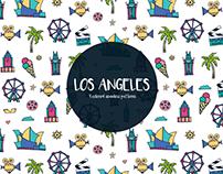 Los Angeles Vector Free Pattern