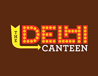 The Delhi Canteen - Menu Card