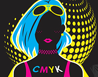 CMYK Chic - Threadless Design Challenge