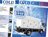 Cold Car USA - variety of flyers