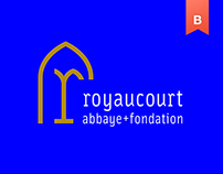 Abbey Royaucourt - Brand identity