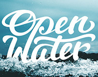 Open Water lettering (new version)