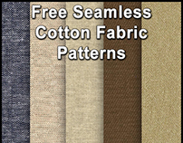Download Free Seamless Cotton Fabric Patterns