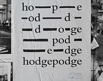 Hodgepodge Posters Series