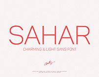 Sahar-Light Sans (Free Download)