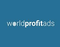 Worldprofitads.com návrh logotypu