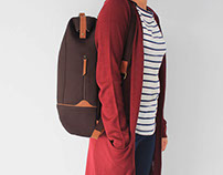 Doctor Backpack - Canvas and leather