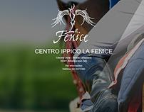 Splash page - Centro ippico La Fenice