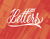 2016 Lettering Collection
