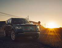 Lincoln Navigator Sunset