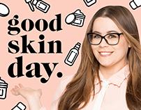 The Skin Nerd | TV Series & Podcast Identity