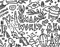Mad World (A3 Doodle Illustration)