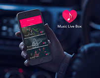 Music Live Box - Music App Project