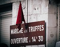 Truffle Market in South West France