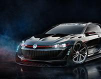 VW GTI Gran Turismo CGI.