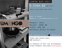 Leaning shelf : Product Brochure