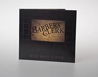 Barbers Clerk - Old mans Pub