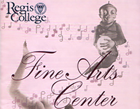 Regis College Fine Arts Center Calendar (2003)