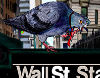 Bad Day For Wall Street Birds