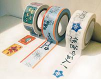CCU masking tape | Tape design | 中正大學紀念紙膠帶