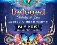 Beloved Festival 2017 Online Marketing Graphics