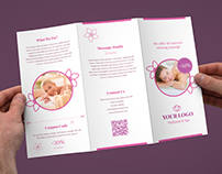 Brochure – Wellness and Spa Tri-Fold Template