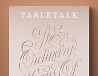 TableTalk Magazine cover & dropcaps
