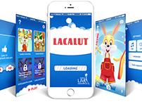 Lacalut app design