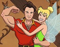 Gaston & Tinkerbell